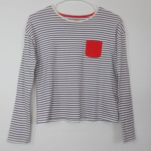 MINI BODEN Girls Long Sleeve Shirt